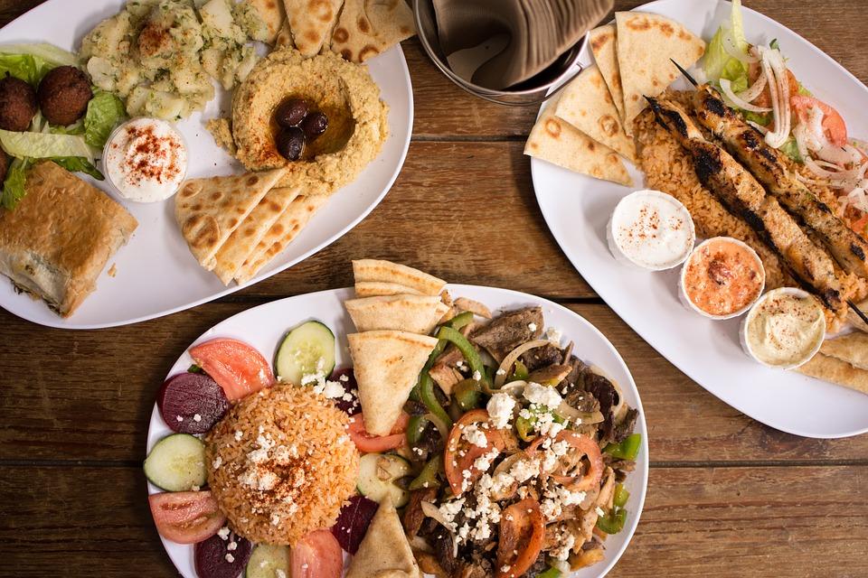jedzenie w Grecji